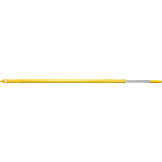 Qleaniq® Handle/rod, Aluminum, telescoopsteel, Ø32mm, 3000mm, yellow 1