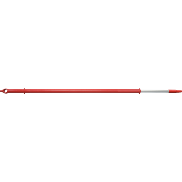 Qleaniq® Handle/rod, Aluminum, telescoopsteel, Ø32mm, 2000mm, red 1