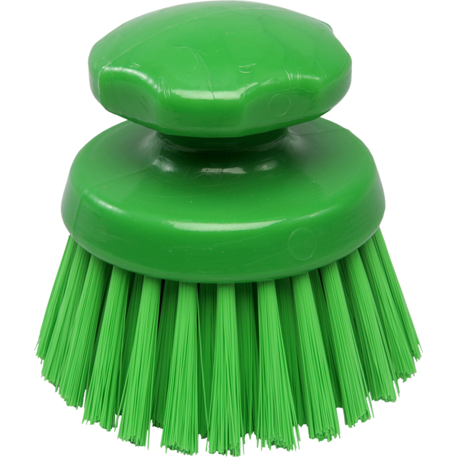 Qleaniq® werkborstel, medium, 125mm, green 1