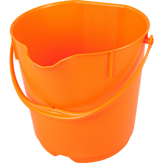Qleaniq® Eimer, PP, 15L, orange  1