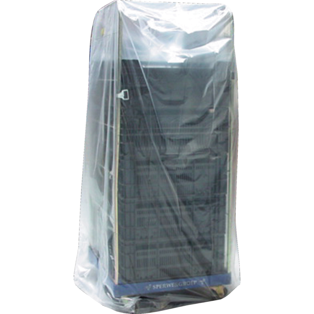 Side fold bag, LDPE, 75/28x220cm, 60my,  1