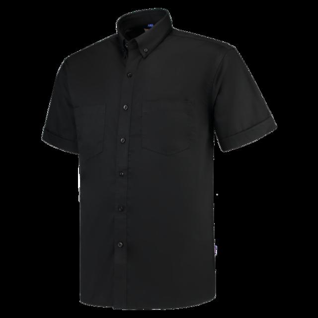 Overhemd Zwart Korte Mouw.Tricorp Overhemd Casual Basicfit Korte Mouw M Uniseks Zwart