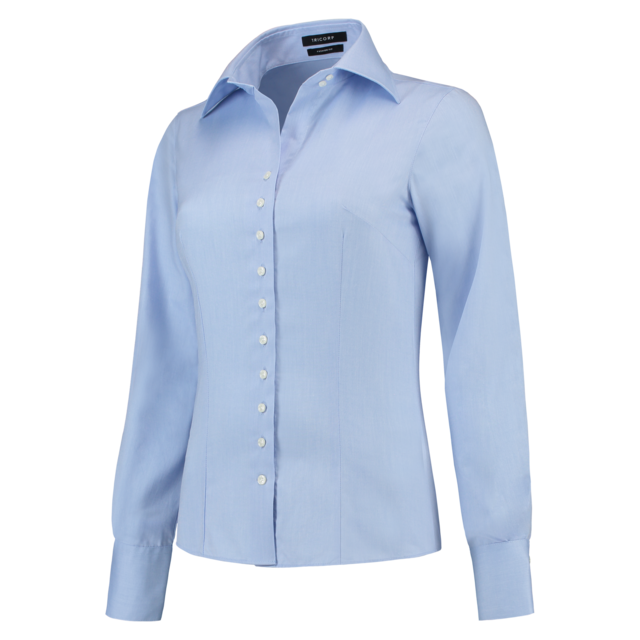 Tricorp Blouse, Corporate, Slimfit, Dames, 32, blauw 1