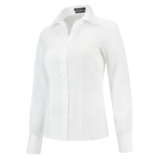 Tricorp Blouse, Corporate, Slimfit, Dames, 32, wit 1