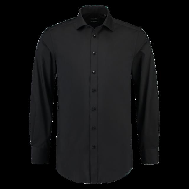 Overhemd Zwart Slim Fit.Tricorp Overhemd Corporate Slimfit Lange Mouw 42 7 Heren