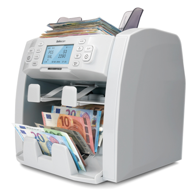 Safescan® Banknote counter, type: 2985-Sx, grey 1