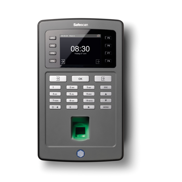 Safescan® Time registration, type: TA-8020, black 1