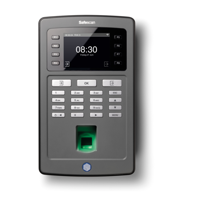Safescan® Time registration, type: TA-8035, black 1