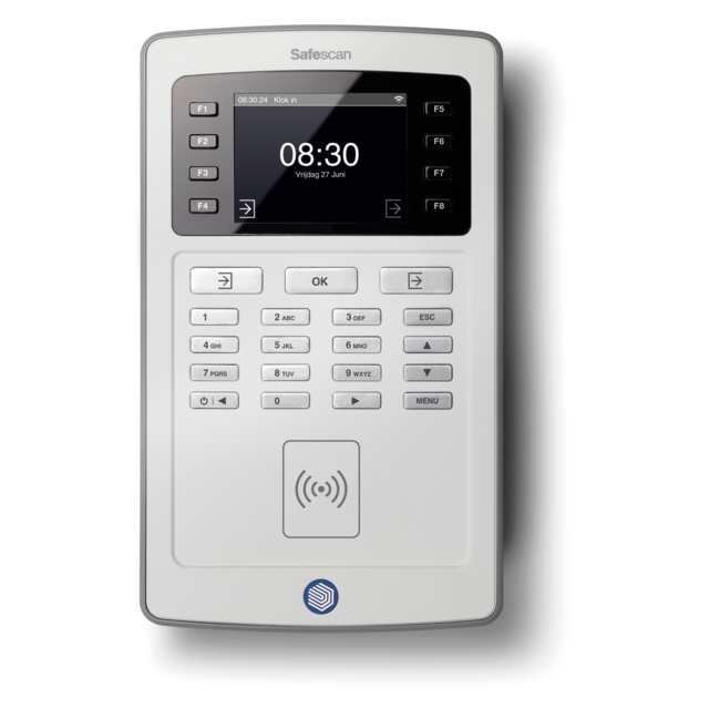 Safescan® Time registration, type: TA-8015, grey 1