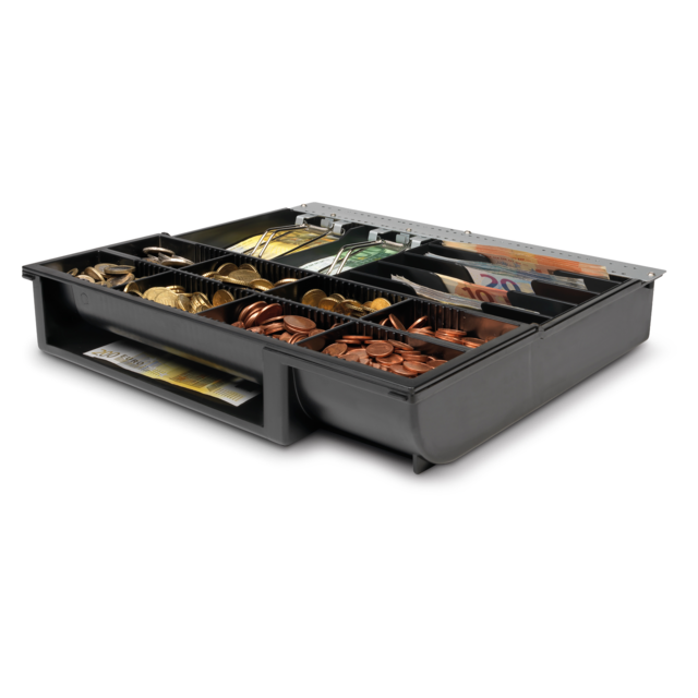 Safescan® Cash drawer, type: 4141T2, black 1