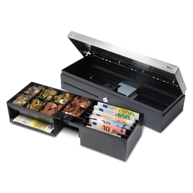 Safescan® Cash drawer, type: 4617T, black 1