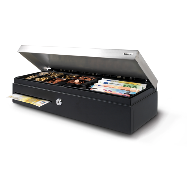 Safescan® Cash drawer, type: SD-4617S, black/Silver 1