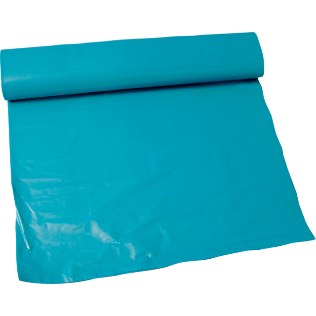 Refuse sack, LDPE, 70x110cm, 65my, blue 1