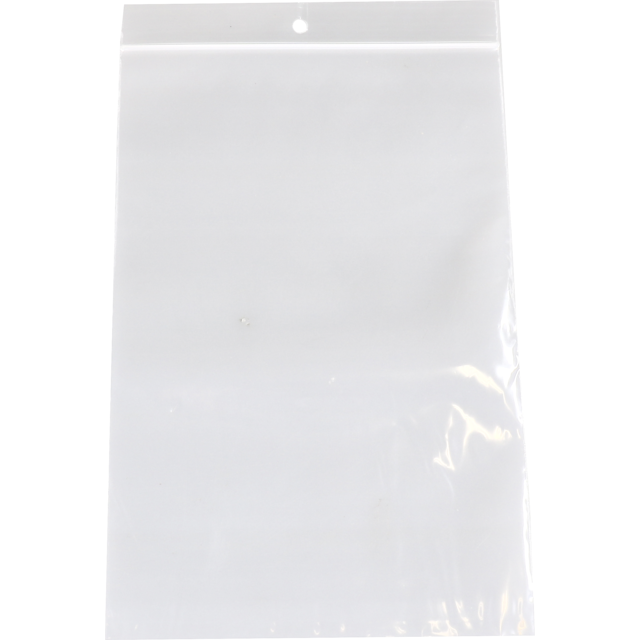 Sac, Sachet refermable, PEBD, 10x15cm, transparent 1