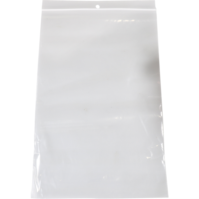 Sac, Sachet refermable, PEBD, 16x23cm, transparent 1