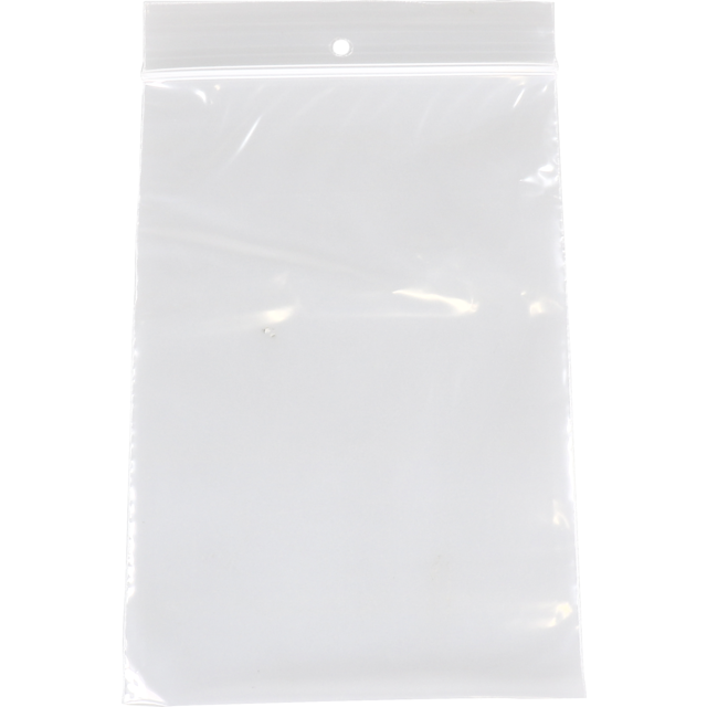 Bag, Rib-seal bag, LDPE, 16x25cm, transparent 1