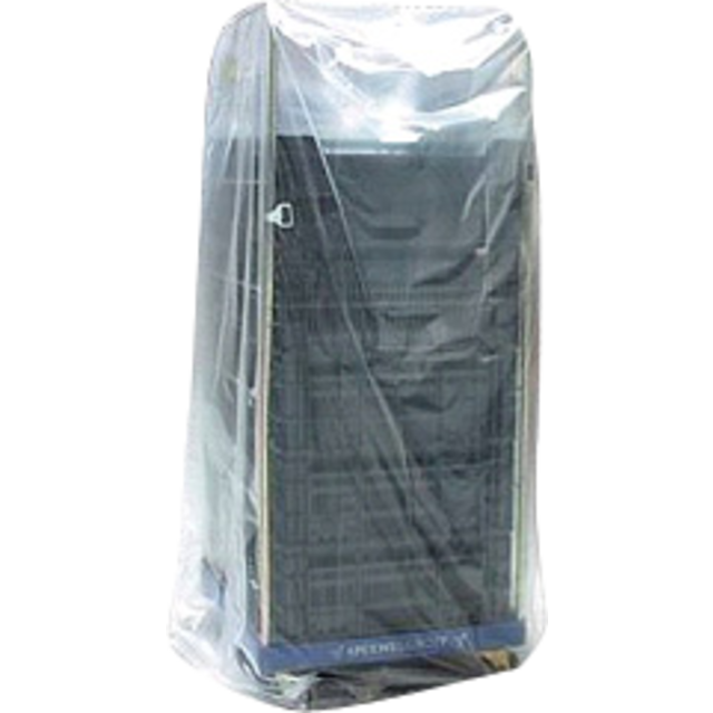 Side fold bag, LDPE, 31x190cm, x100cm, 15my, transparent 1