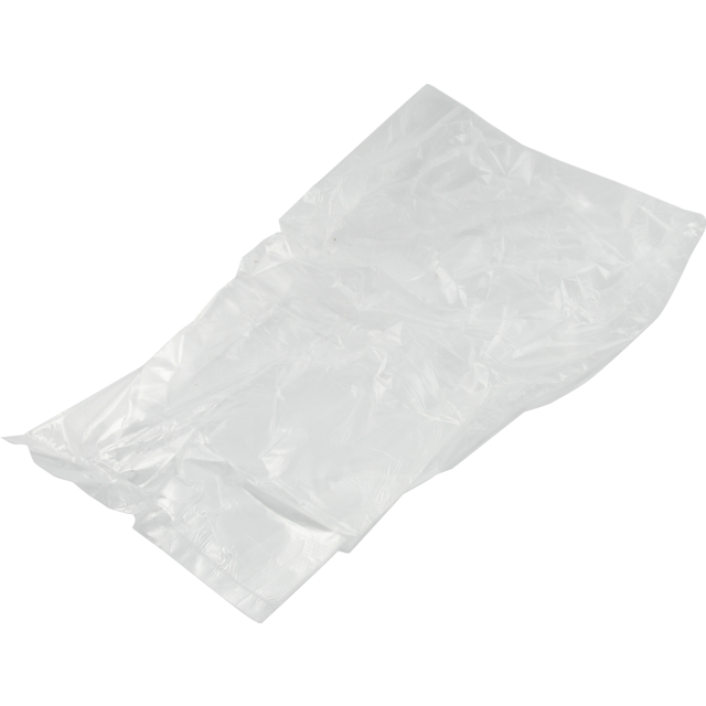 Refuse sack, HDPE, 28/8x46cm, 10my, transparent 1