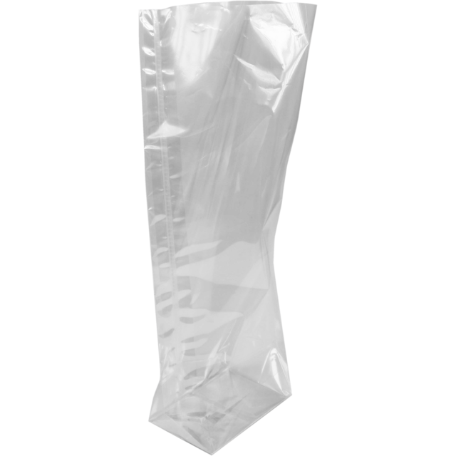 Block bottom bag, PP, 170x320mm, transparent 1