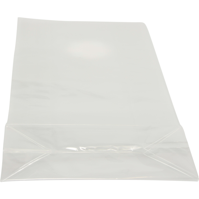 Bag Block Bottom Bag Pp 16 8x36cm 40my Transparent