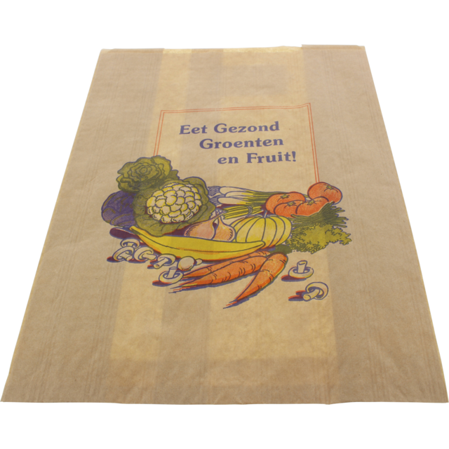 Fruit & vegetable bag, Paper, 21/11x31cm, Health chest,  1