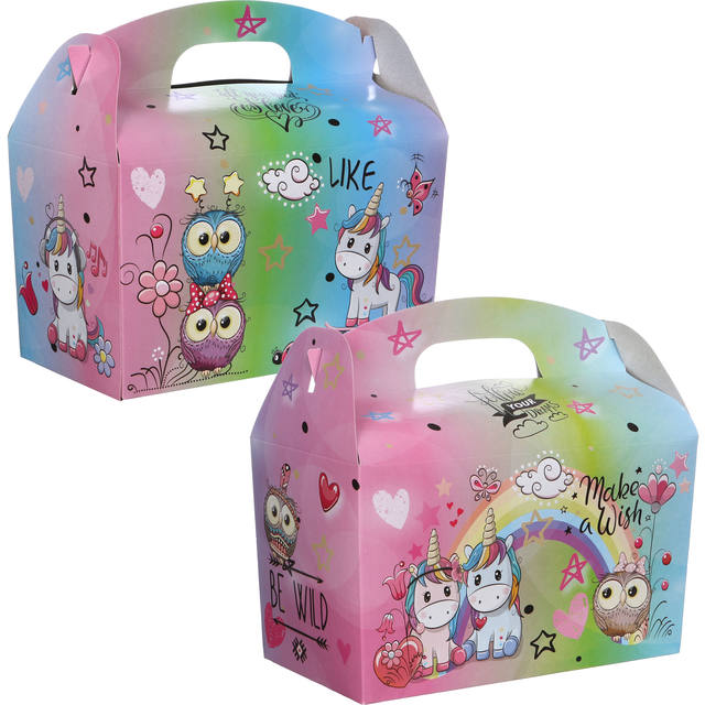 Kidsbox, Karton, Meiden, 150x214x115mm 1