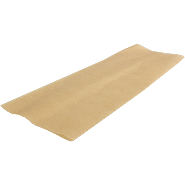 Sheet, Snack sheet, Dry wax Ecocraft, 273x381mm, brown  1