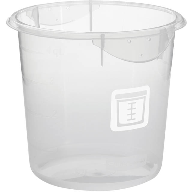 Rubbermaid, Container, 232509, 3.8L, rond,  1