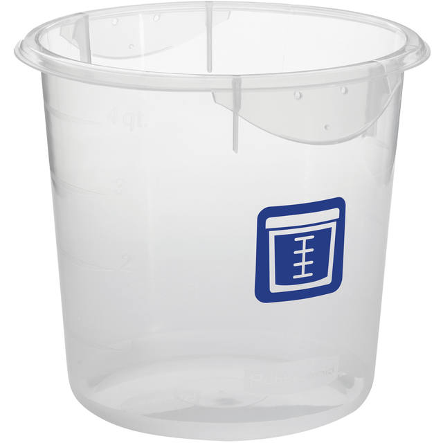 Ronde voedselcontainer 3,8 ltr Verse Vis, Rubbermaid 1