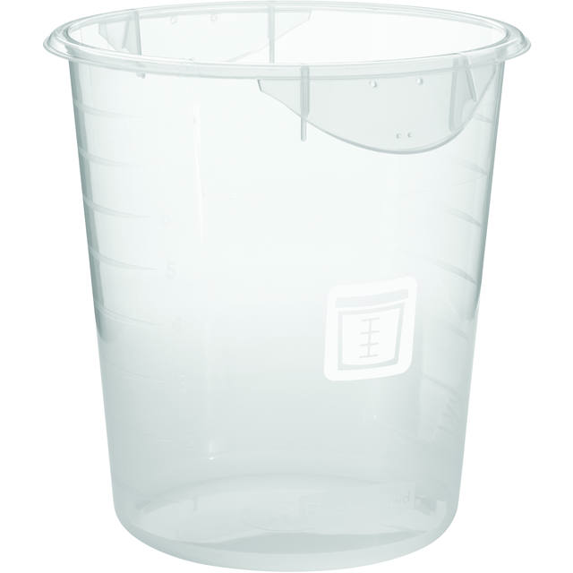 Ronde opslagcontainer 7,6 ltr, Rubbermaid 1