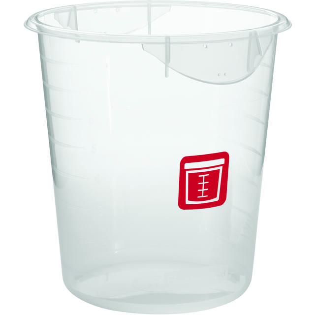 Ronde container 7,6 ltr Rauw vlees, Rubbermaid 1