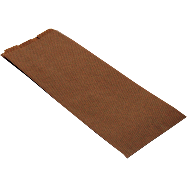 Food bag, Paper, 11/5,5x26.5cm, brown 1