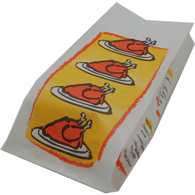 Meat and poultry bag, Paper, 170/7x35.5cm, Chicken,  1
