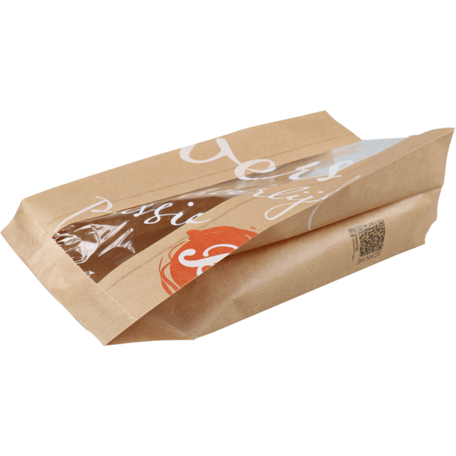Bread and pastry bag, Paper, 16/10x34cm, Delicious,  1