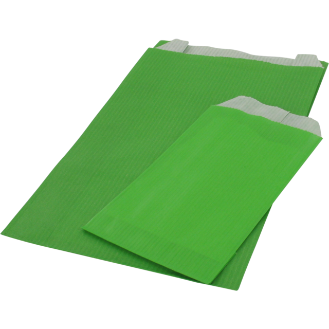 Gift bags, Paper, 70x120mm, green 1