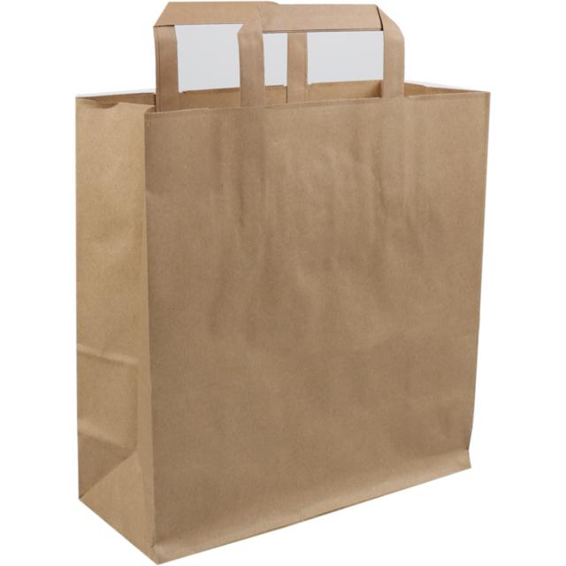 Bag Kraft Paper Flat Handles