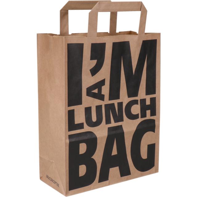 I M Concept Bag Pulp Flat Paper