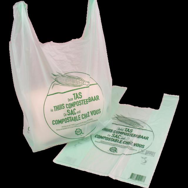 transparante plastic tassen