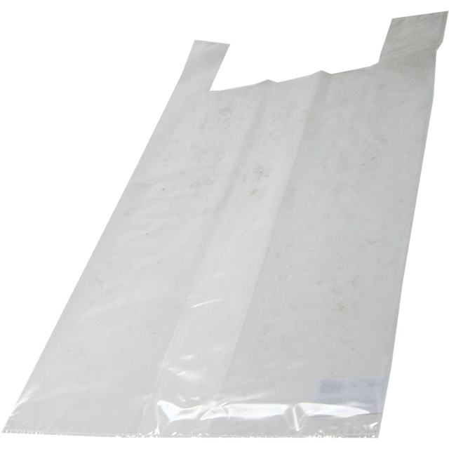 Bag, LDPE, hemd, 37x17x70cm, t-shirt bag, transparent 1