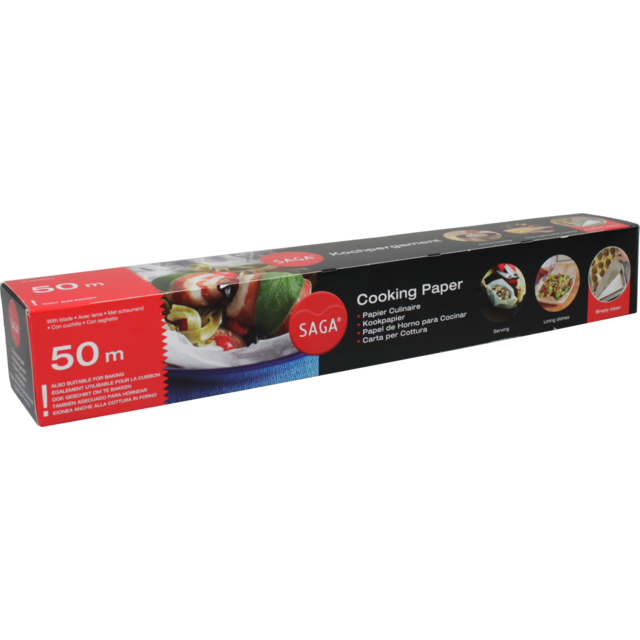 Paper, Silicone treated greaseproof paper, 50x39cm,  1