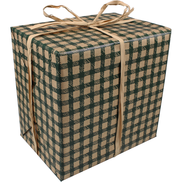 Gift-wrapping paper, 50cm, 400m, 48, green 1