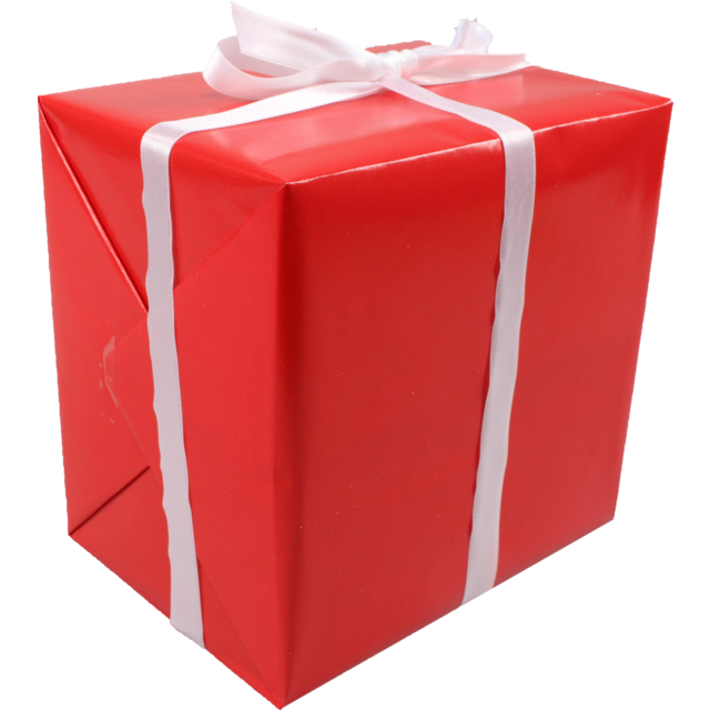Gift-wrapping paper, 50cm, 200m, 108, red 1