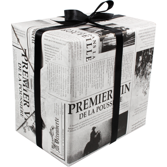 Gift-wrapping paper, 50cm, 200m, Le journal,  1