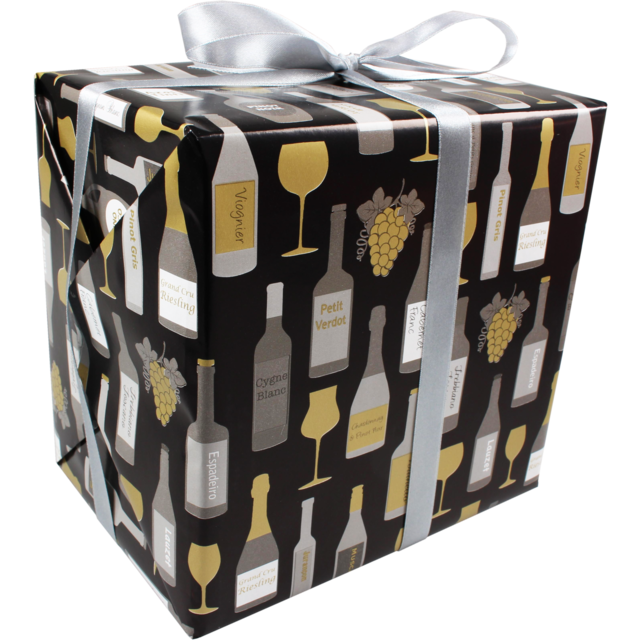 Gift-wrapping paper, 50cm, 200m, Wine pattern,  1
