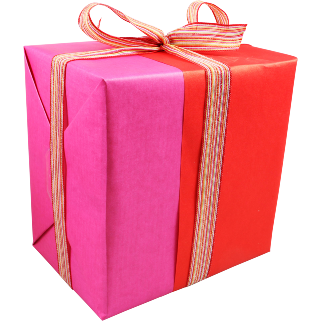 Gift-wrapping paper, 50cm, 260m, 659, red/Pink 1