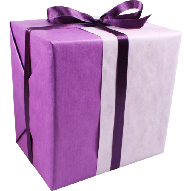 Gift-wrapping paper, 30cm, 260m, 50gr/m², 660, purple/Lilac 1