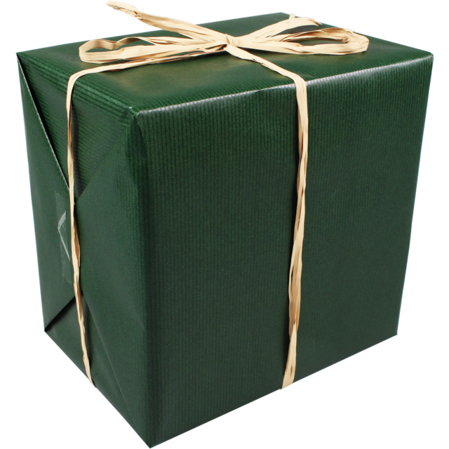 Gift-wrapping paper, 60cm, 250m, 892, green 1