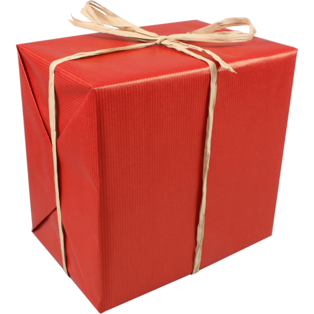 Gift-wrapping paper, 50cm, 250m, 894, red 1