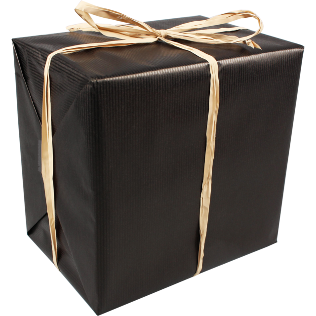 Gift-wrapping paper, 50cm, 250m, 896, black 1