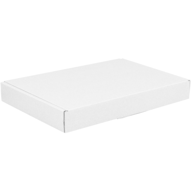 SendProof® Fits through letterbox - box, A5, Cardboard, 160x255x28mm, white 1